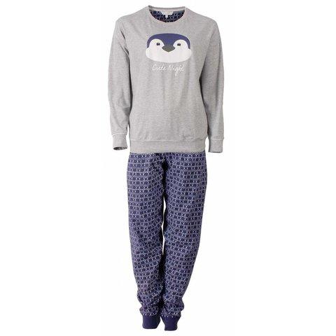 Tenderness Dames pyjama Grijs Melange TEPYD2504B-O2