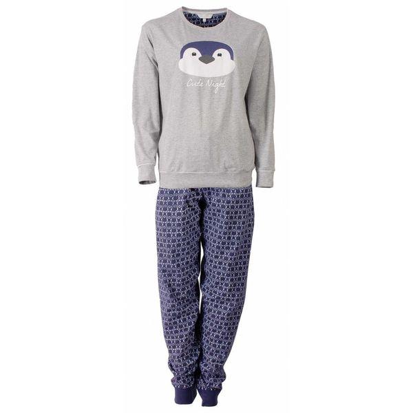 Tenderness Tenderness Dames pyjama Grijs Melange TEPYD2504B-O2