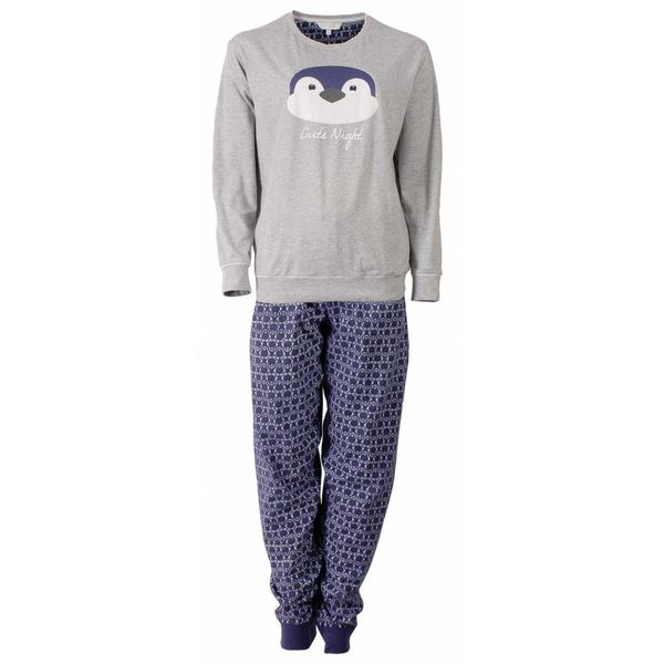 Tenderness Tenderness Dames Pyjama Grijs TEPYD2504B