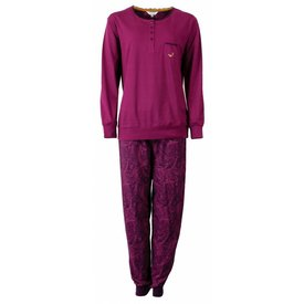 Tenderness Tenderness Dames Pyjama Paars TEPYD2506A