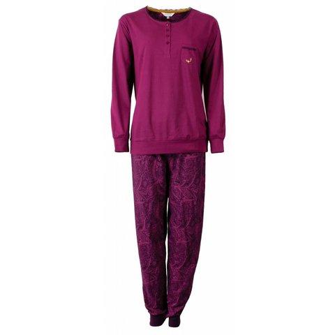 Tenderness Dames Pyjama Paars TEPYD2506A