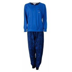 Tenderness Tenderness Dames Pyjama Blauw TEPYD2506B