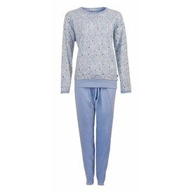 Tenderness Tenderness Dames winter Pyjama Blauw TEPYD2703A
