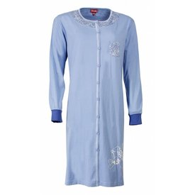 Medaillon Medaillon Dames Nachthemd Blauw MENGD2407A