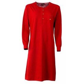 Medaillon Medaillon Dames Nachthemd Rood