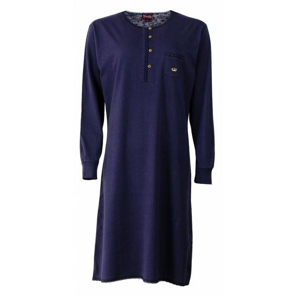 Medaillon Medaillon Dames nachthemd Blauw MENGD2507B-C4