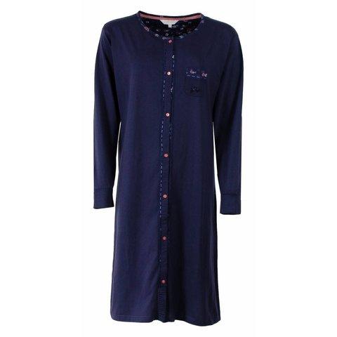 Tenderness Dames nachthemd Blauw TENGD2502A-D4