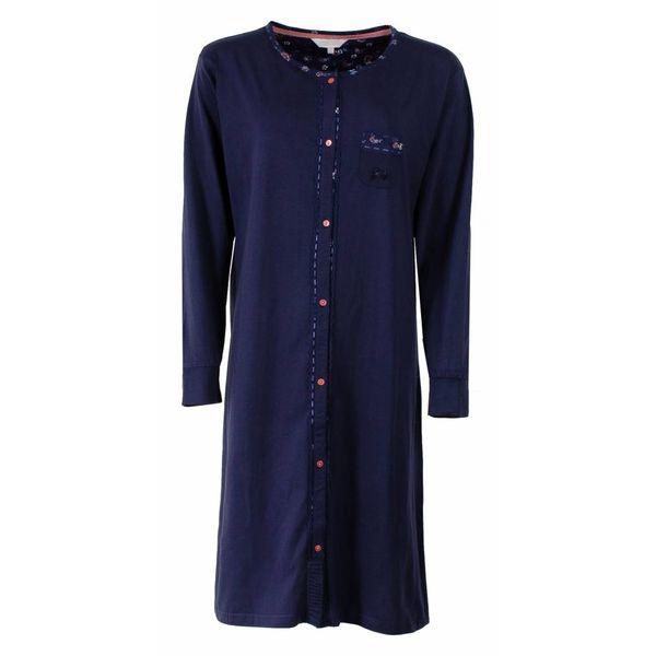 Tenderness Tenderness Dames nachthemd Blauw TENGD2502A-D4