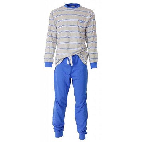 M.E.Q Heren pyjama Licht Blauw MEPYH1407A-M15