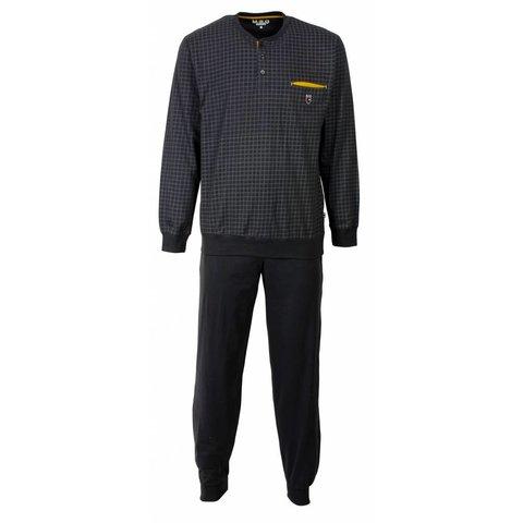 M.E.Q Heren pyjama Grijs MEPYH1603A-G2