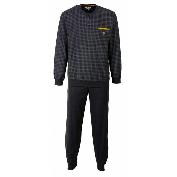 M.E.Q M.E.Q Heren pyjama Grijs MEPYH1603A-G2