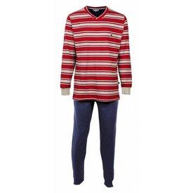 Merkloos M.E.Q Heren Pyjama Blauw MEPYH1605A