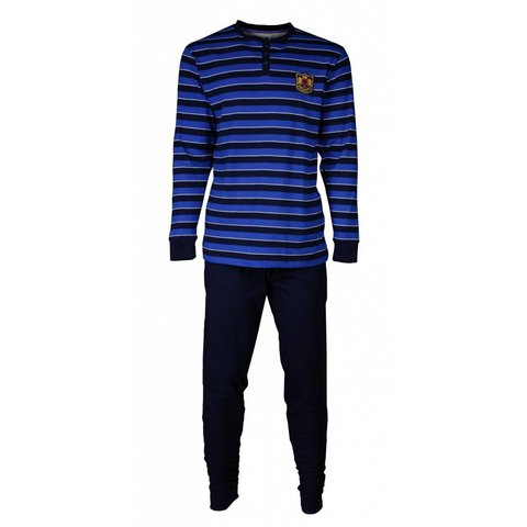 M.E.Q Heren pyjama Blauw MEPYH1705A-F5