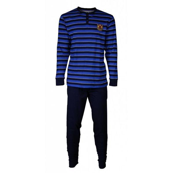 M.E.Q M.E.Q Heren pyjama Blauw MEPYH1705A-F5