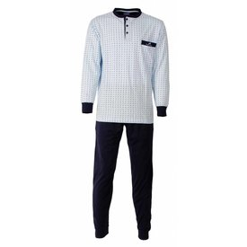 Paul Hopkins Paul Hopkins Heren Pyjama Licht Blauw