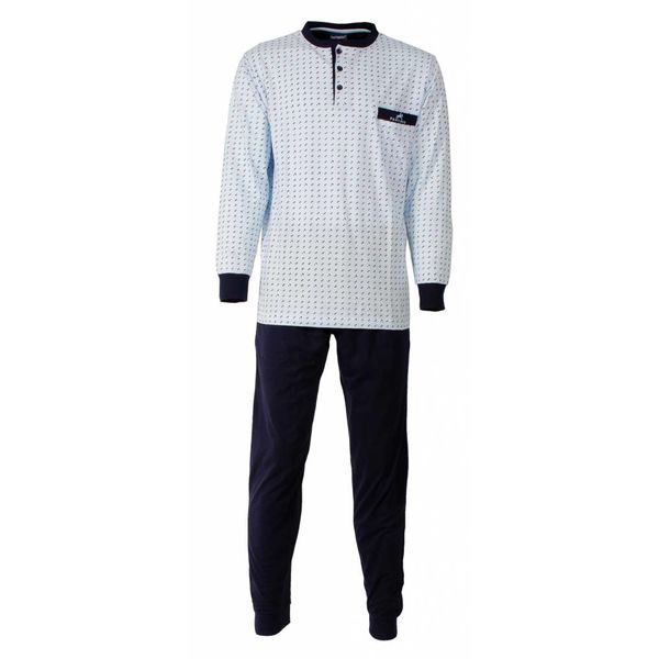 Paul Hopkins Paul Hopkins Heren Pyjama Licht Blauw