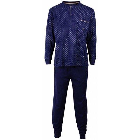 Paul Hopkins Blauwe  Heren Pyjama PHPYH1502A
