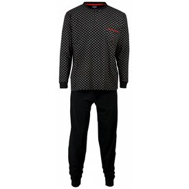 Paul Hopkins Paul Hopkins Heren Pyjama Zwart