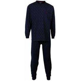 Paul Hopkins Paul Hopkins Heren pyjama Blauw PHPYH1512A-E9