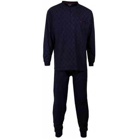 Paul Hopkins Heren pyjama Blauw PHPYH1512A-E9
