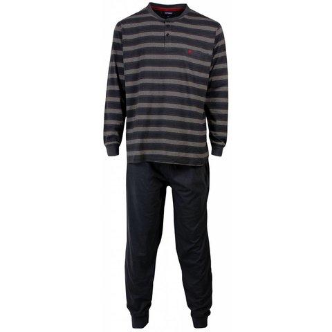 Paul Hopkins Heren pyjama Grijs PHPYH1513B-L/M