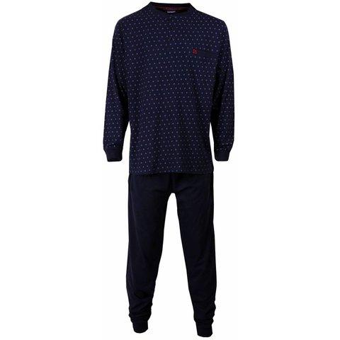 Paul Hopkins Heren pyjama Blauw PHPYH1514A-C8
