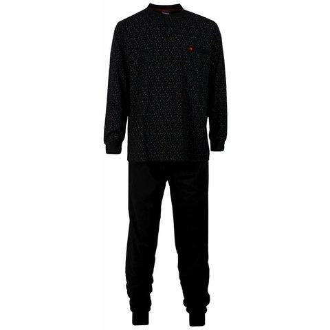 Paul Hopkins Heren Pyjama Zwart