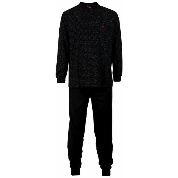 Paul Hopkins Paul Hopkins Heren pyjama Zwart PHPYH1515B-L1