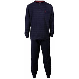 Paul Hopkins Paul Hopkins Heren pyjama Blauw PHPYH1516A-B6
