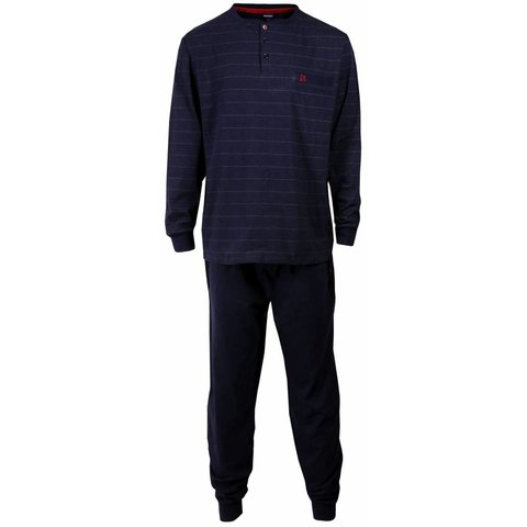 Paul Hopkins Heren pyjama Blauw PHPYH1516A-B6