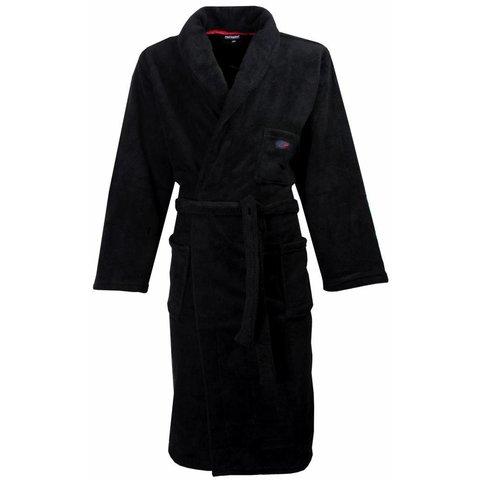 Heren badjas PHBRH1303A-Zwart- RM Heren