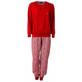 Medaillon Medaillon Dames Pyjama Rood