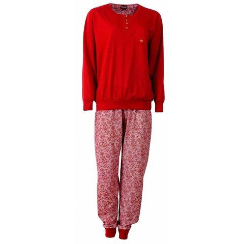 Medaillon Dames Pyjama Rood MEPYD2505A