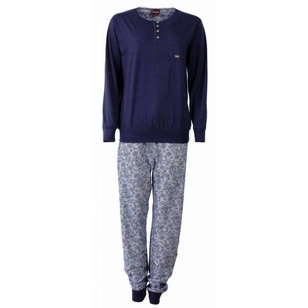 Medaillon Medaillon Dames pyjama Blauw MEPYD2505B-F8