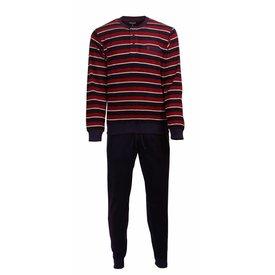 Paul Hopkins Paul Hopkins Heren Pyjama Badstof Blauw PHPYH2716A