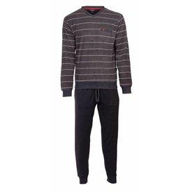 Paul Hopkins Paul Hopkins Heren Badstof Pyjama Grijs PHPYH2717A