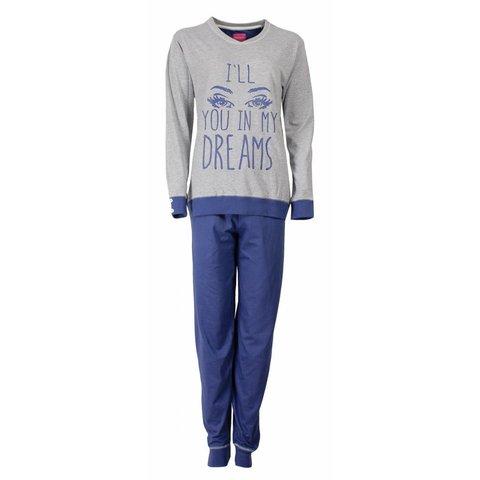 Irresistible Dames Pyjama Grijs