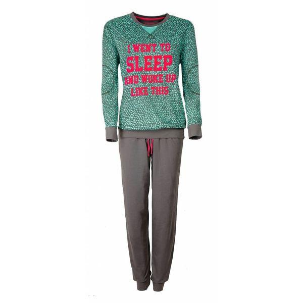 Irresistible Irresistible Dames Pyjama Groen