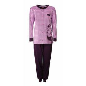 Medaillon Medaillon Dames Pyjama doorknoop ziekenhuis  Paars/Roze