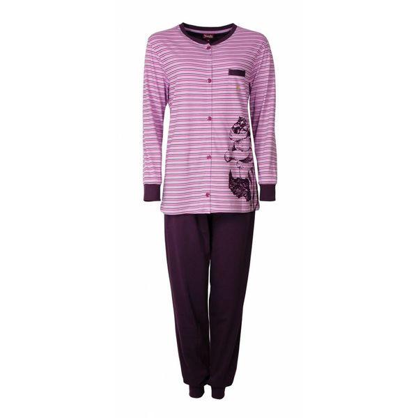 Medaillon Medaillon Dames Pyjama Paars/Roze