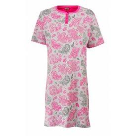Medaillon Medaillon Dames Nachthemd Rood MENGD1607A