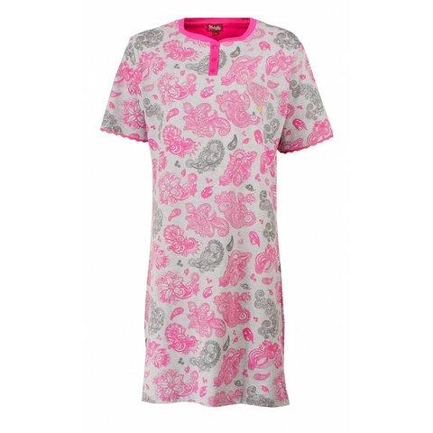 Medaillon Dames Nachthemd Rood MENGD1607A