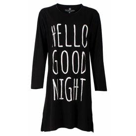 Tenderness Tenderness Dames Nachthemd Zwart