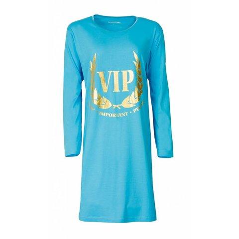 Temptation Dames Nachthemd Blauw