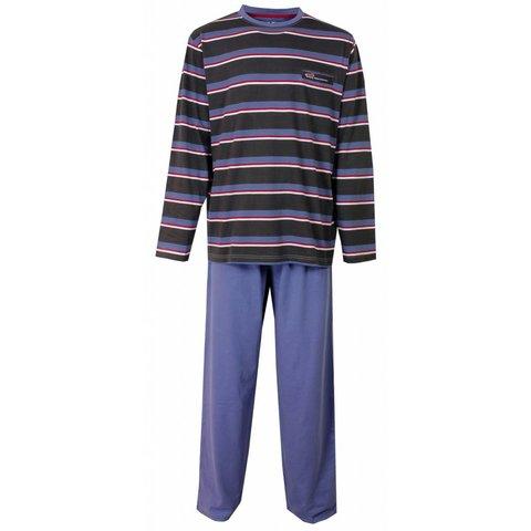 M.E.Q Heren Pyjama Blauw