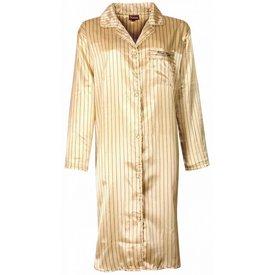 Medaillon Medaillon Dames Nachthemd Zacht Geel