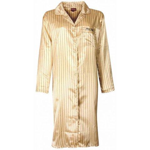 Medaillon Dames Nachthemd Zacht Geel