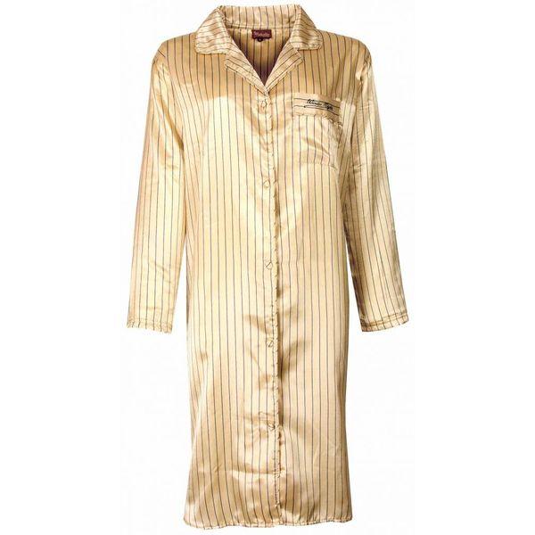 Medaillon Medaillon Dames Nachthemd Zacht Geel NGD31057W