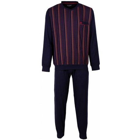 Paul Hopkins Heren Pyjama Rood