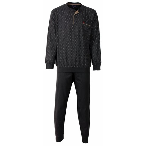 Paul Hopkins Heren Pyjama Grijs PHPYH2515A
